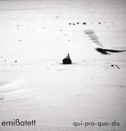 Emißatett qui-pro-quo-dis CD Cover (Schraum, 2013)